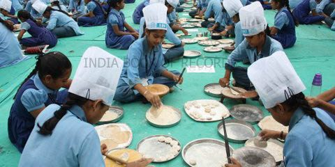 MOST CHAPPATIS MADE IN THE SHORTEST TIME