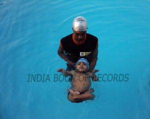 YOUNGEST SWIMMER WITH LOCOMOTIVE DISABILITY