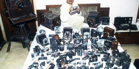 LARGEST COLLECTION OF ANTIQUE CAMERAS