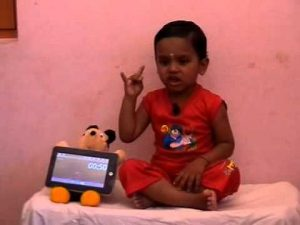 YOUNGEST TO PERFORM MOST YOGA MUDRAS