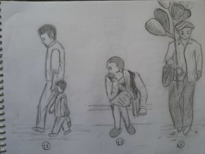 MOST SKETCHES OF HUMAN POSTURE