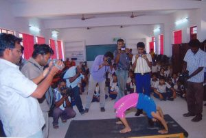 YOUNGEST TO PERFORM MOST ASANAS IN MINIMUM TIME