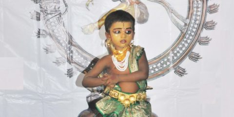 YOUNGEST TO PERFORM RUDIMENTARY BHARATANATYAM