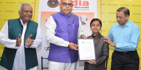 YOUNGEST TO WRITE A STORY BOOK ON PM'S SCHEMES