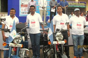 LONGEST ANTI TOBACCO MOTORCYCLE EXPEDITION