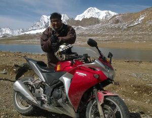 YOUNGEST TO REACH 'CHOLAMU LAKE' ON MOTORBIKE (MALE)