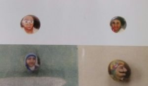 MICRO PORTRAITS ON MUSTARD SEED