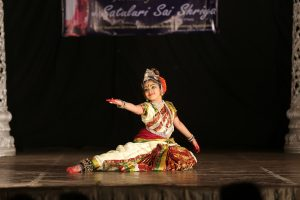 YOUNGEST TO PERFORM KUCHIPUDI RANGAPRAVESAM