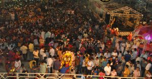 MAHA AARTI WITH MOST LAMPS