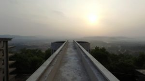 LONGEST FREE STANDING CANTILEVERED RCC STRUCTURE