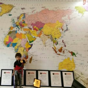 IDENTIFYING ALL COUNTRIES ON WORLD OUTLINE MAP IN LEAST TIME